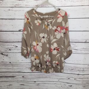 Old Navy Maternity floral shirt